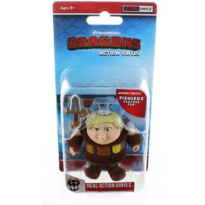 "The Loyal Subjects How To Train Your Dragon 3.25"" Action Vinyl: Fishlegs (Flocked Fur)"