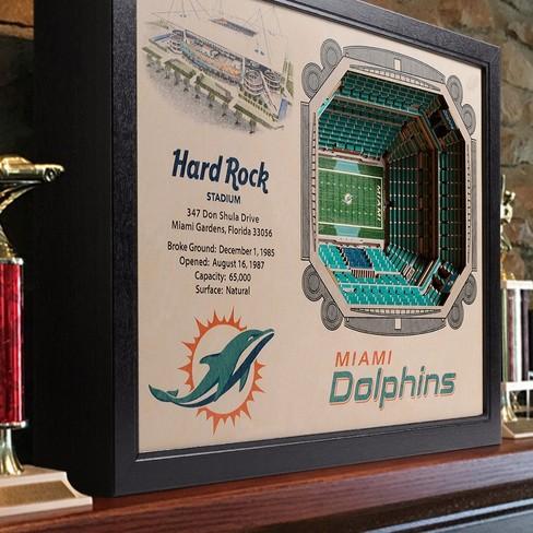 Discount NFL Miami Dolphins StadiumViews Wall Art Sun Life Stadium : Target