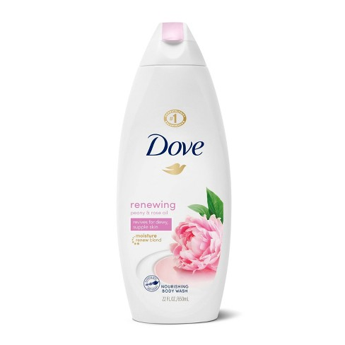 Dove Renewing Peony Rose Oil Body Wash 22 Fl Oz Target