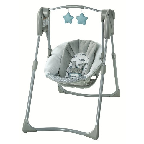 Graco Slim Spaces Compact Baby Swing - image 1 of 4