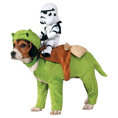 Star Wars Dewback Pet Rider Dog Costume - Clear - One Size