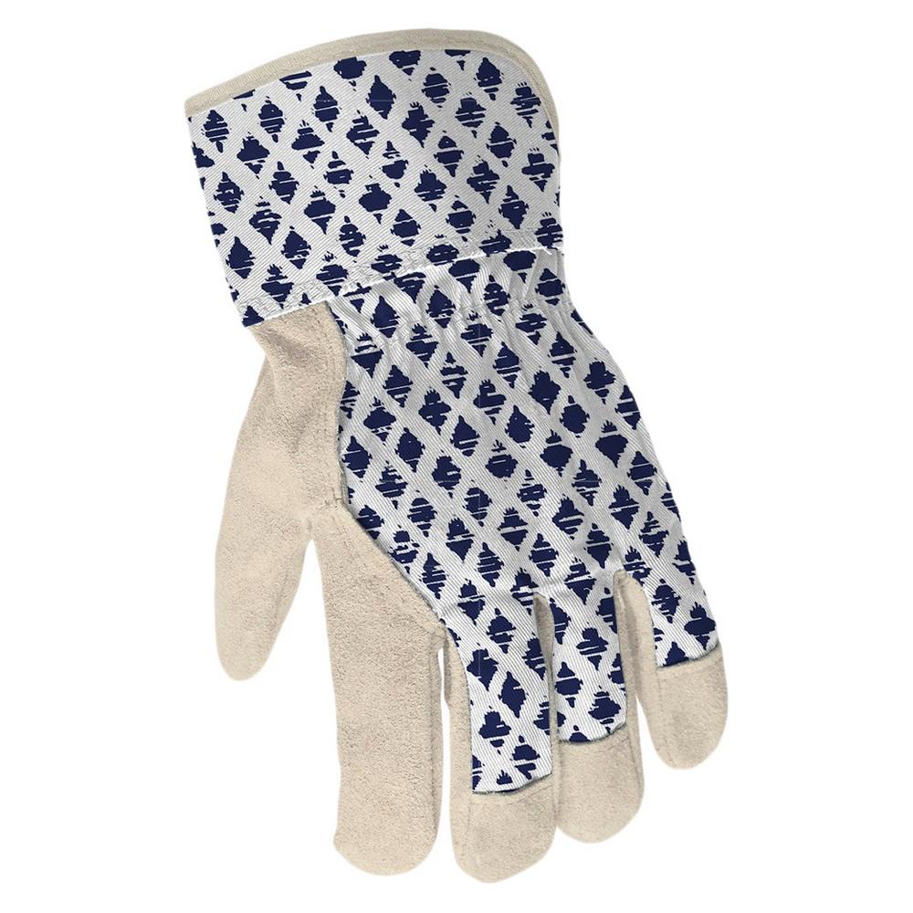 Leather Women's Split Garden Glove - One Size - Blue - Threshold