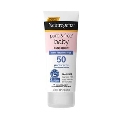 Neutrogena Pure & Free Baby Sunscreen Lotion - SPF 50 - 3 fl oz