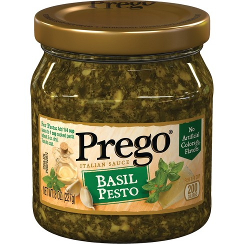 Prego Basil Pesto Sauce - 8 oz - image 1 of 5