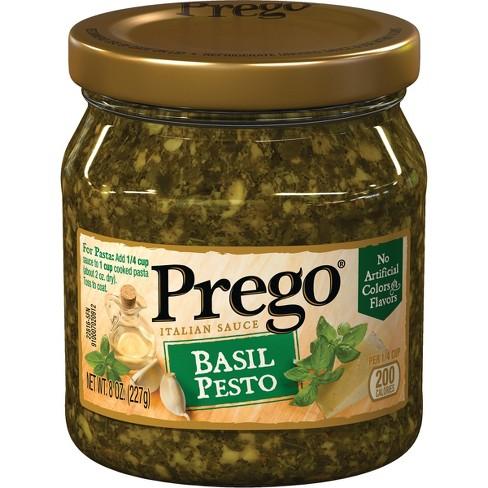 Prego Basil Pesto Sauce 8oz Target
