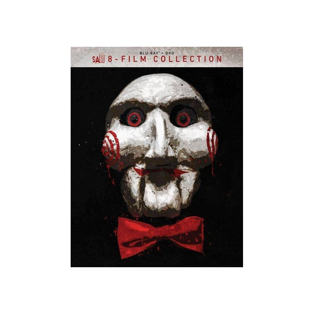 Saw 8 Film Collection Blu Ray