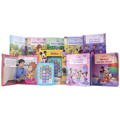 Pi Kids Disney Junior Electronic Me Reader and 8-Book Library Boxed Set