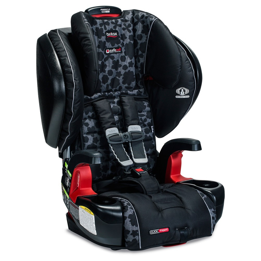 Britax Pinnacle ClickTight Harness Booster - Kate Gray