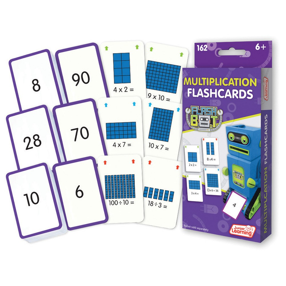 Image of Junior Learning Math Flashcards - Multiplication