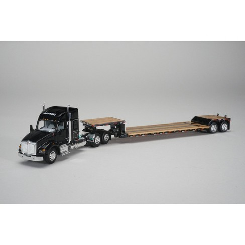 Gleaner Kenworth T880 Sleeper Cab with Fontaine Renegade Lowboy Trailer 1/64 Diecast Model by Speccast - image 1 of 1
