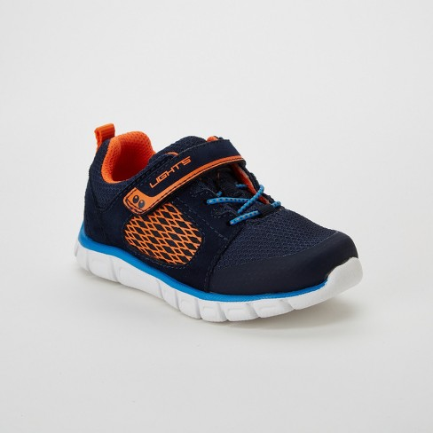 Toddler Boys' Surprize by Stride Rite Gunner Light-Up Performance Athletic Shoes - Navy - image 1 of 4
