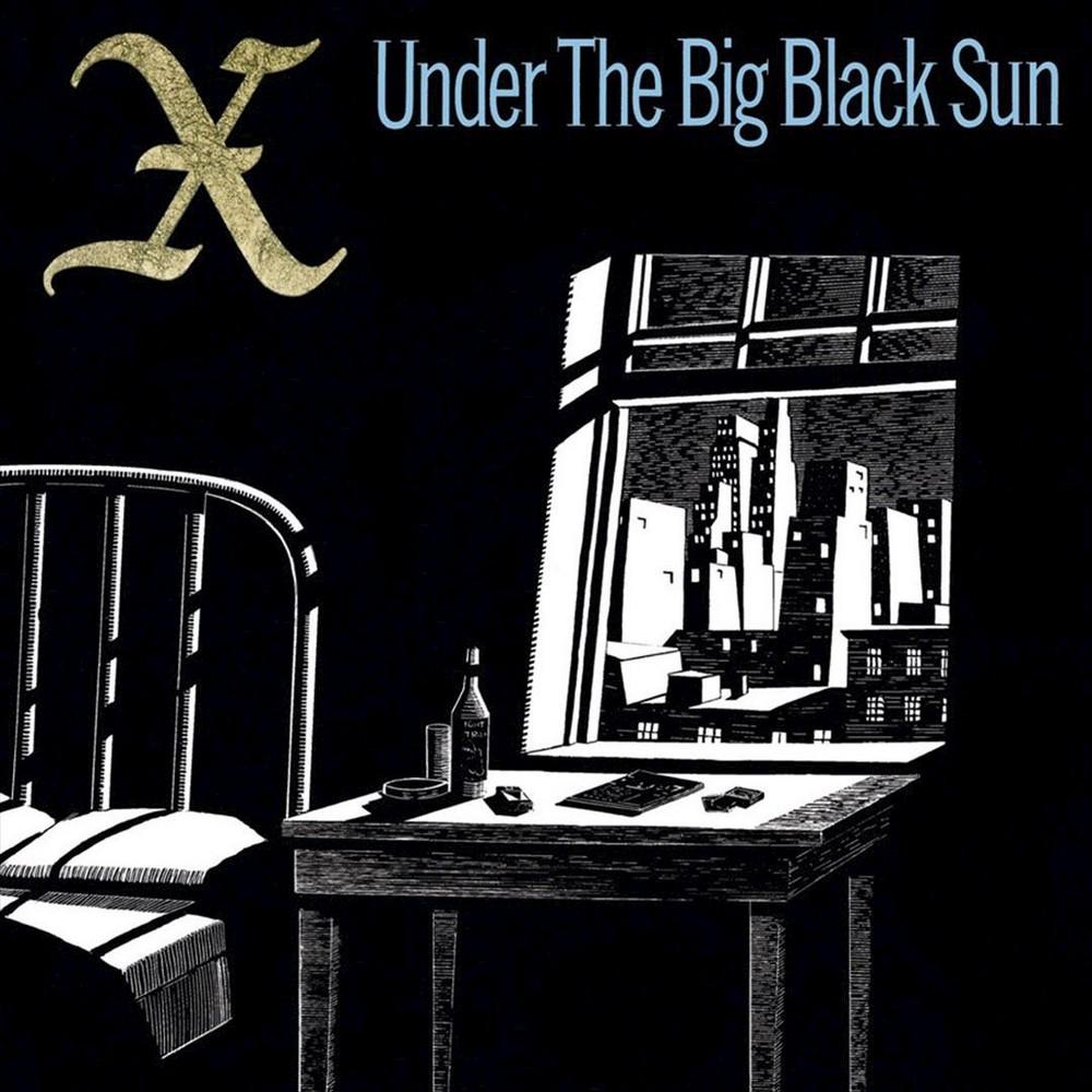 X - Under the big black sun (CD)