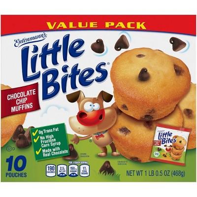 Entenmann's Little Bites Chocolate Chip Muffins - 10ct/16.5oz