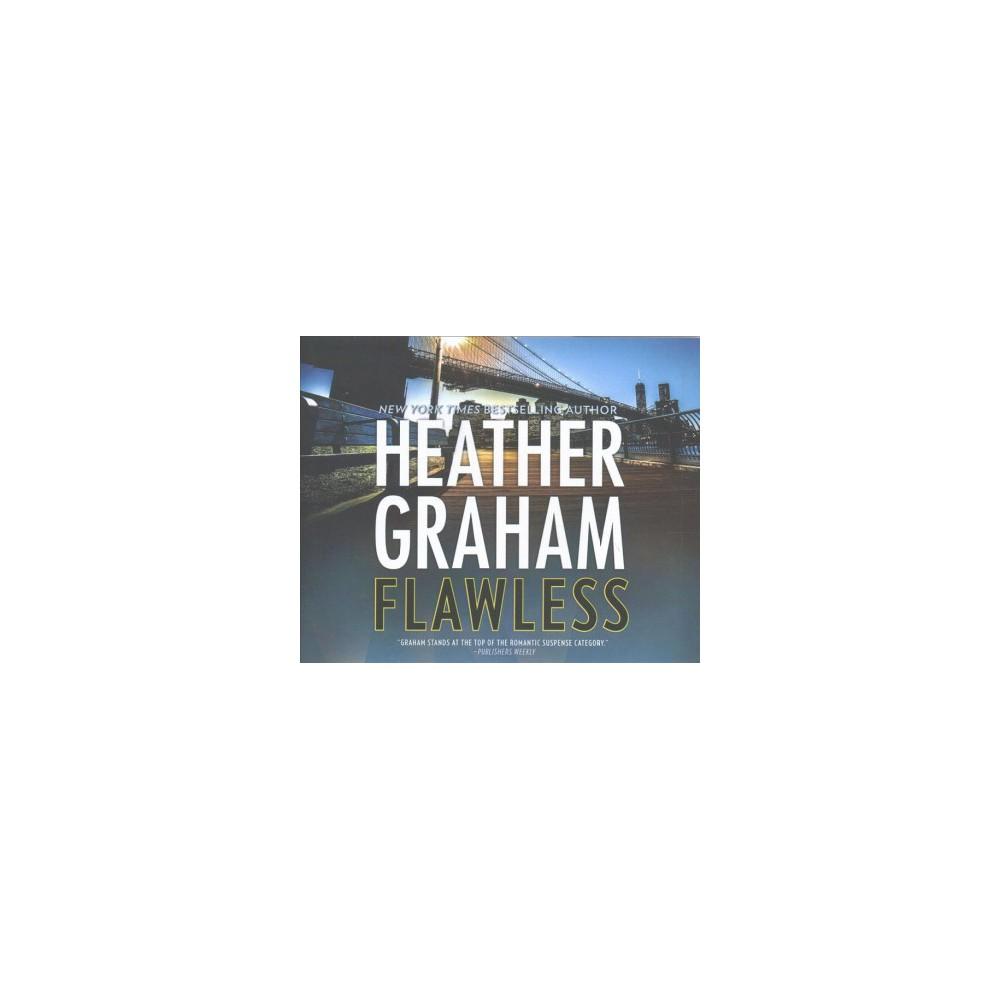 Flawless - Unabridged by Heather Graham (CD/Spoken Word)