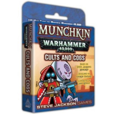 Munchkin Warhammer 40,000 - Cults and Cogs Board Game