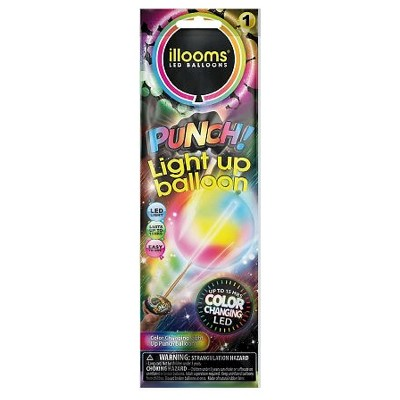 illooms® LED Light Up Color Changing Punch Balloon