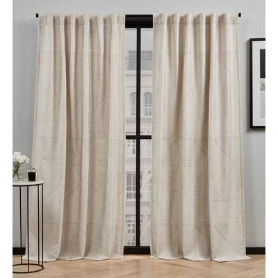 Cardi Light Filtering Curtain Panel - Elle Décor