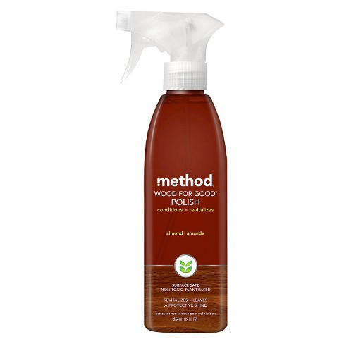 Method Cleaning Products Wood For Good Polish Spray Bottle 12 Fl Oz Target