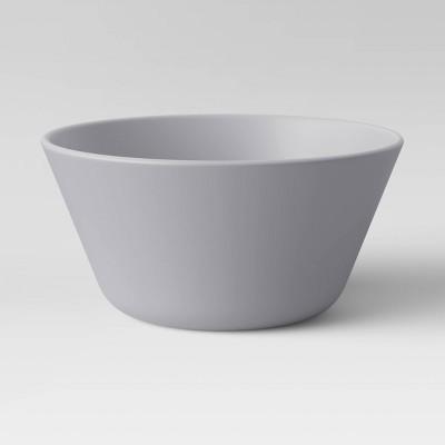 7oz 4pk Plastic Mini Bowls Gray - Room Essentials™