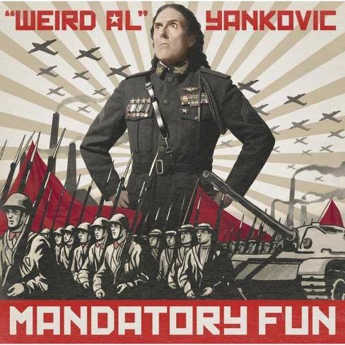 """Weird Al"" Yankovic - Mandatory Fun (CD) - image 1 of 1"