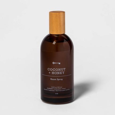 3.38 fl oz Amber Glass Coconut and Honey Room Spray - Threshold™ - image 1 of 2