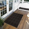 Charcoal Solid Doormat - (4'X6') - HomeTrax - image 2 of 4