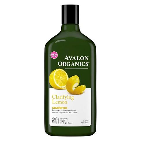 Avalon Organics Clarifying Lemon Shampoo - 11oz - image 1 of 2