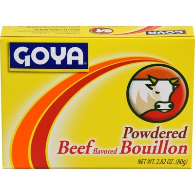 GOYA Powdered Beef Flavored Bouillon - 2.82oz