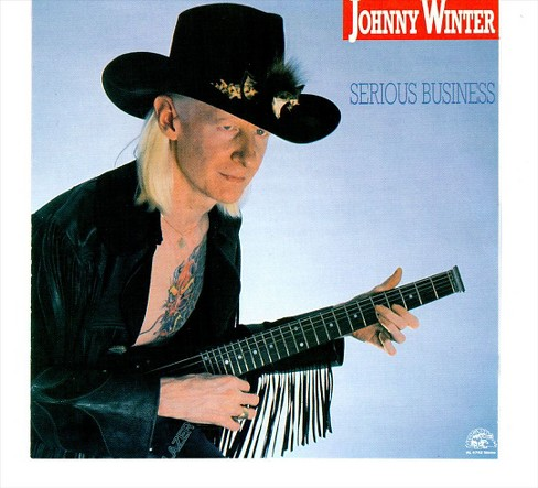Johnny winter - Serious business (CD) - image 1 of 1