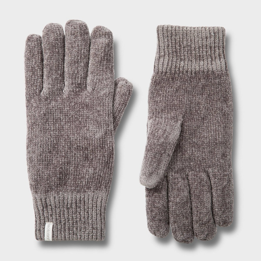 Image of Isotoner Women's Chenille Glove - Gray One Size, Women's