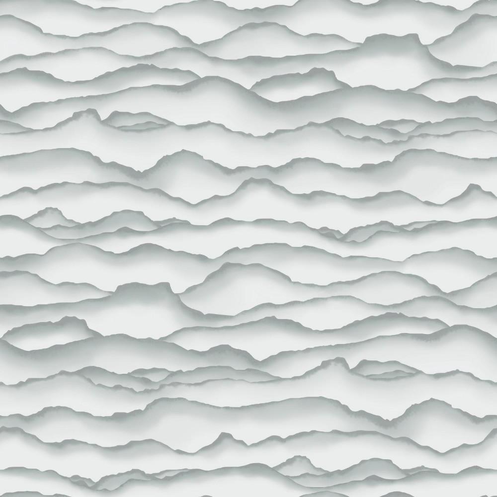 RoomMates Singed Peel & Stick Wallpaper Gray Promos