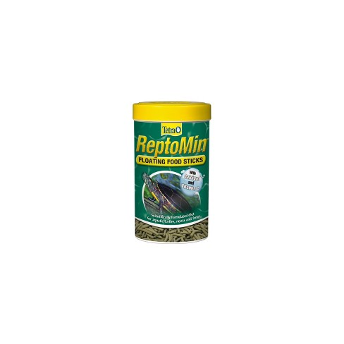 ReptoMin Newts and Frogs Aquatic Turtles Floating Food Sticks 3.7oz - image 1 of 3