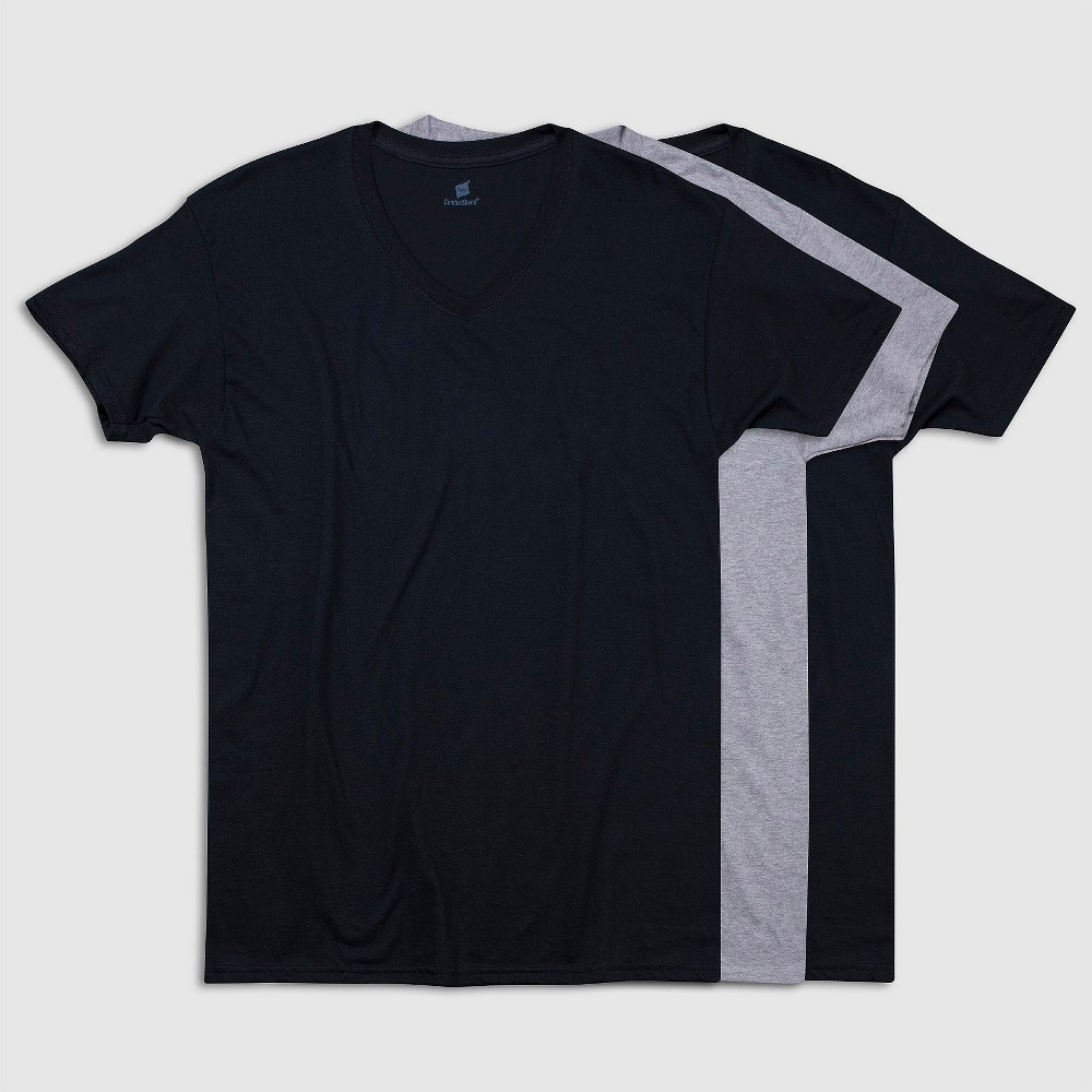 Hanes Premium Men's Modal Cotton V-Neck Undershirt 3pk - XL, Multicolored