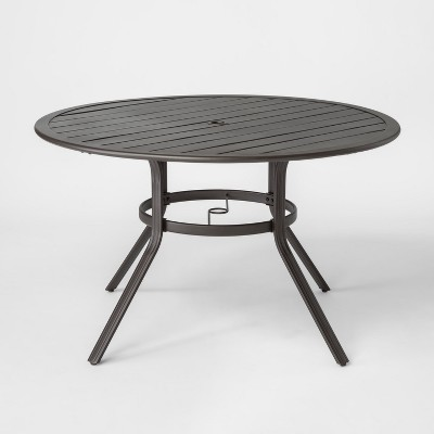"Marrion 48"" Round Metal Patio Dining Table - Threshold™"