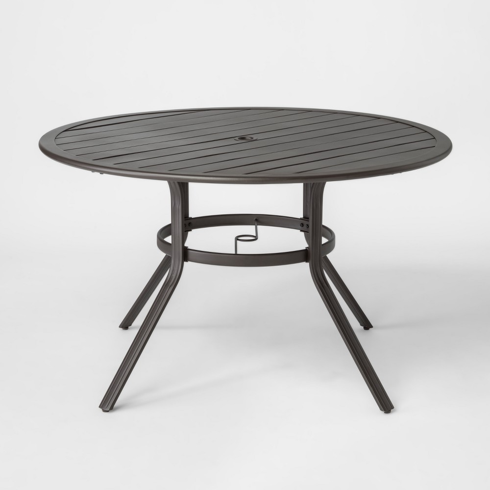 Marrion 48 Round Metal Patio Dining Table - Threshold