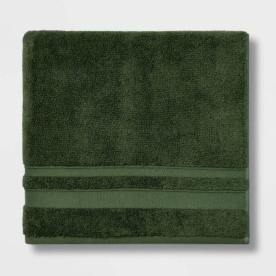 Performance Bath Towel Dark Green - Threshold™
