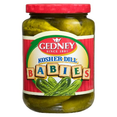 Gedney Kosher Baby Dill Pickles - 16oz