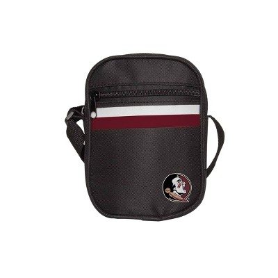 NCAA Florida State Seminoles Black Mini Messenger Bag