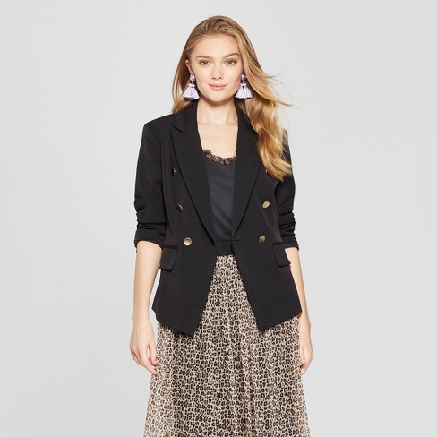 Women's Open-Front Blazer - A New Day™ - image 1 of 3