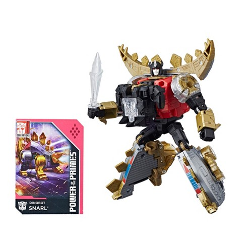Transformers Generations Power of the Primes Deluxe Class Dinobot Snarl - image 1 of 8