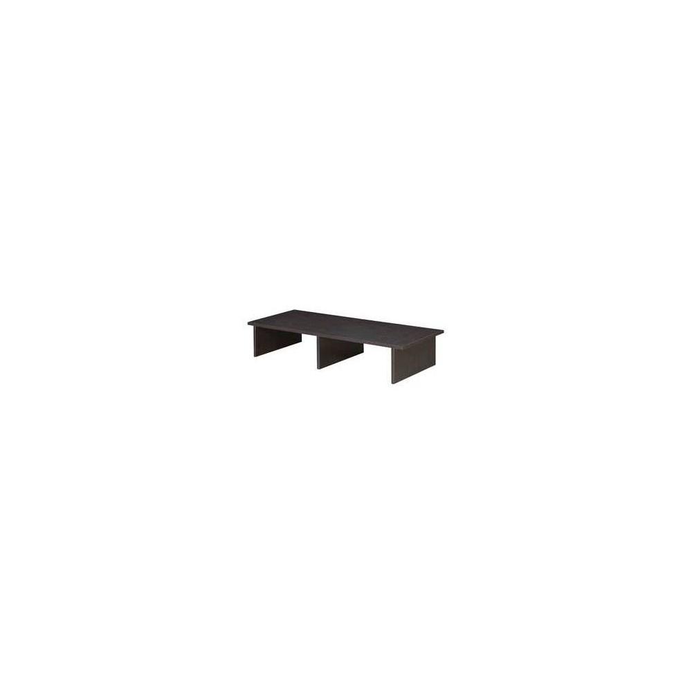 Image of Designs2Go Large TV/Monitor Riser Espresso - Johar Furniture