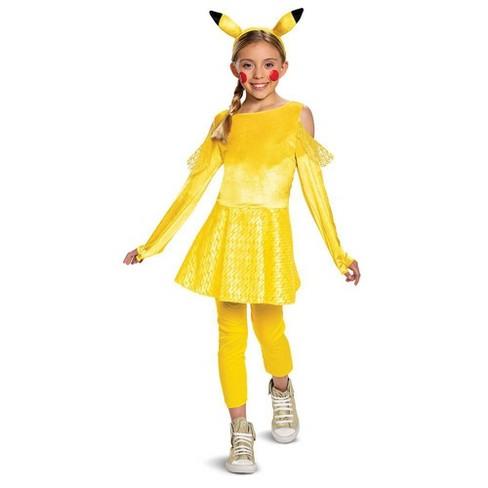 Girls' Pokemon Pikachu Deluxe Halloween Costume - image 1 of 2