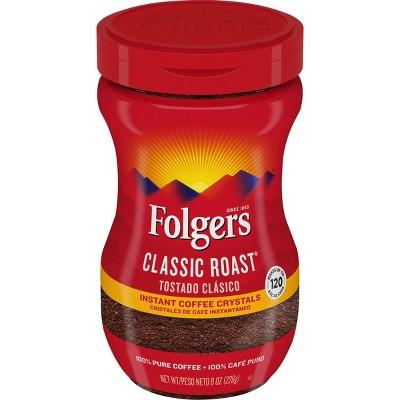 Folgers Classic Medium Roast Instant Coffee - 8oz