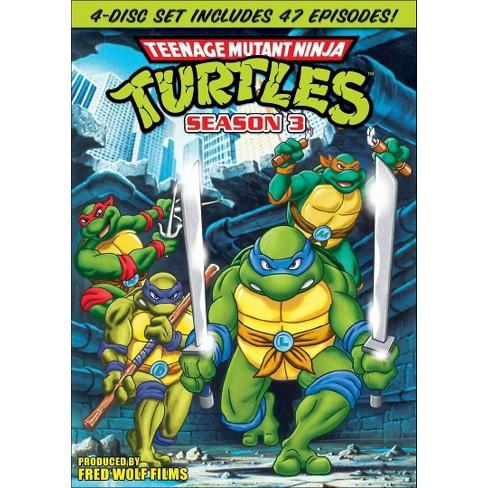 Teenage Mutant Ninja Turtles: Season 3 (4 Discs) (DVD) - image 1 of 1