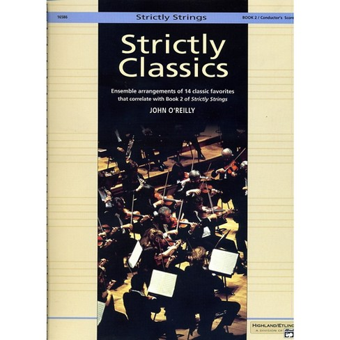 Alfred Strictly Classics Book 2 Conductor's Score - image 1 of 1