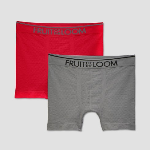 Fruit of the Loom Men's 2pk Breathable Seamless Boxer Briefs - image 1 of 3