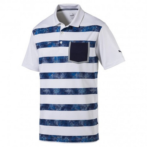 pretty nice 07658 28efb Men s Puma Camo Stripe Golf Polo