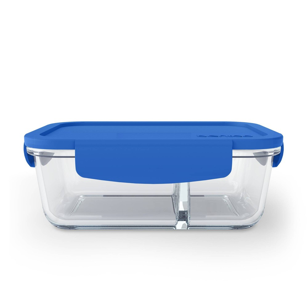 Image of Bentgo Glass Snack Container - Blue