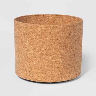 12  x 10  Decorative Cork Basket Brown - Project 62™