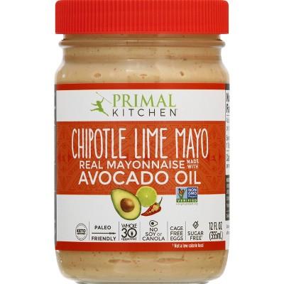 Primal Kitchen Chipotle Lime Mayo with Avocado Oil - 12 fl oz